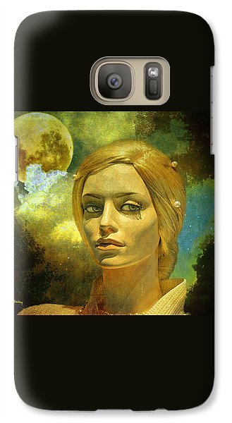 Luna In The Garden Of Evil Galaxy S7 Case by Chuck Staley