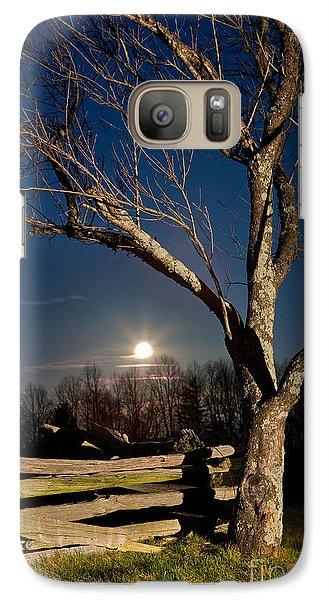Lunar Landing - Blue Ridge Parkway Galaxy S7 Case by Dan Carmichael