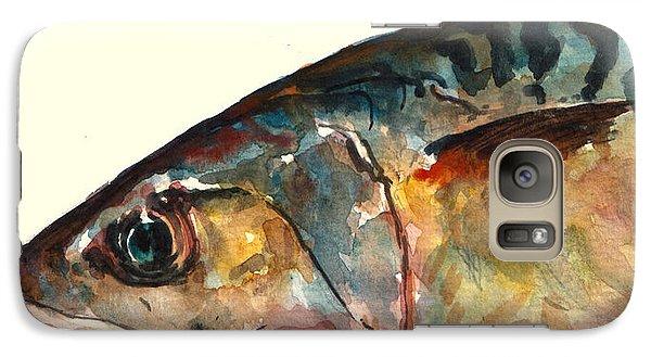 Mackerel Fish Galaxy S7 Case by Juan  Bosco