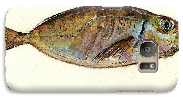 Mackerel Scad Galaxy S7 Case by Juan  Bosco