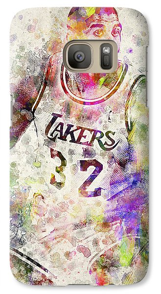 Magic Johnson Galaxy Case by Aged Pixel