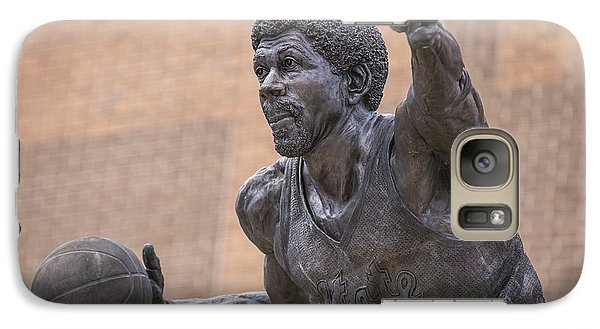 Magic Johnson Statue  Galaxy Case by John McGraw
