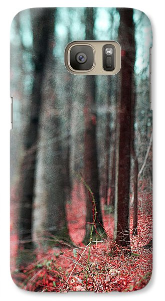 Magical Forest Galaxy Case by Kim Fearheiley