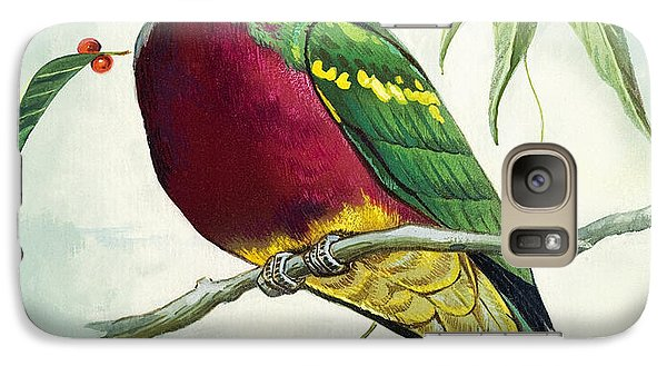 Magnificent Fruit Pigeon Galaxy Case by Bert Illoss