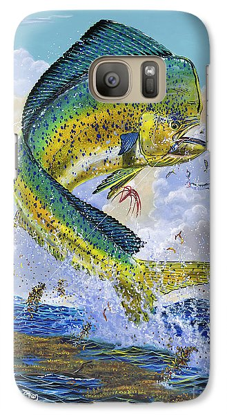 Mahi Hookup Off0020 Galaxy Case by Carey Chen