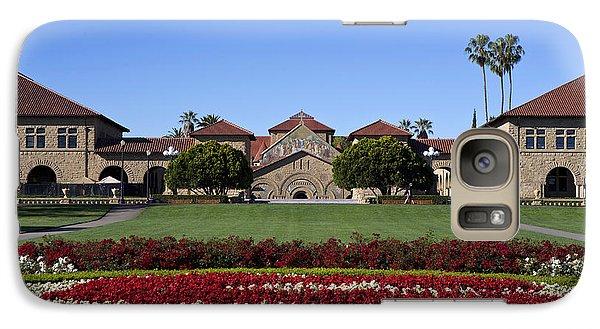 Main Quad Stanford California Galaxy S7 Case by Jason O Watson