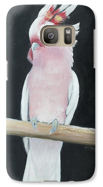 Major Mitchell Cockatoo Galaxy Case by Jan Matson