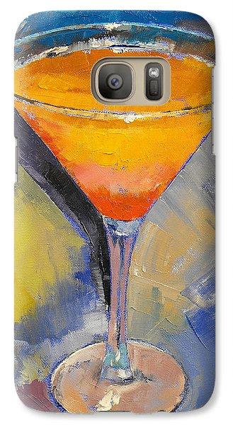 Mango Martini Galaxy Case by Michael Creese