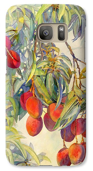 Mangoes In The Evening Light Galaxy S7 Case by Dorothy Boyer