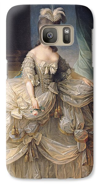 Marie Antoinette Queen Of France Galaxy Case by Elisabeth Louise Vigee-Lebrun