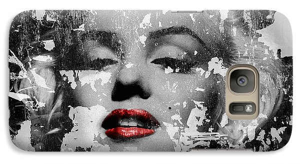 Marilyn Monroe 5 Galaxy S7 Case by Andrew Fare