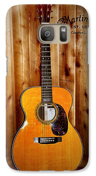 Martin Guitar - The Eric Clapton Limited Edition Galaxy S7 Case by Bill Cannon
