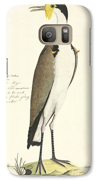 Masked Lapwing, 18th Century Galaxy S7 Case by Natural History Museum, London