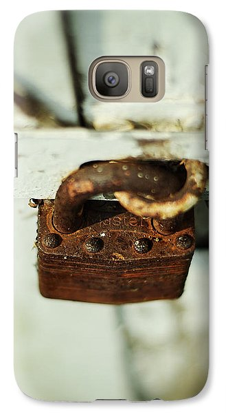 Master Lock Galaxy Case by Rebecca Sherman