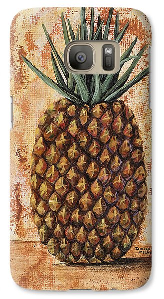 Maui Pineapple Galaxy Case by Darice Machel McGuire