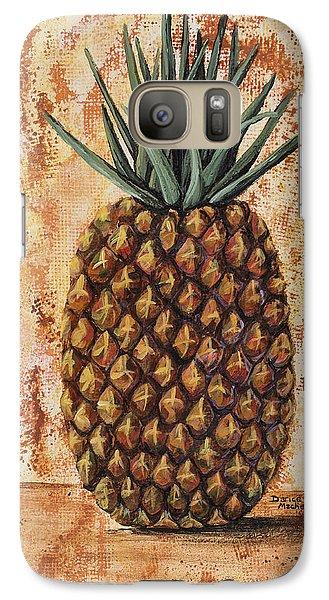 Maui Pineapple Galaxy S7 Case by Darice Machel McGuire