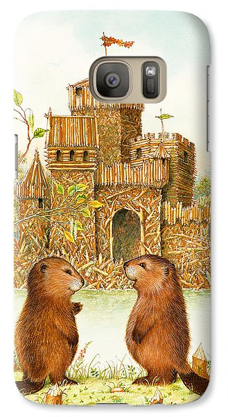 Mclodge Galaxy Case by Lynn Bywaters