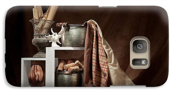 Medley Of Textures Still Life Galaxy S7 Case by Tom Mc Nemar