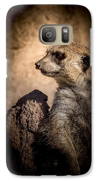 Meerkat 12 Galaxy S7 Case by Ernie Echols