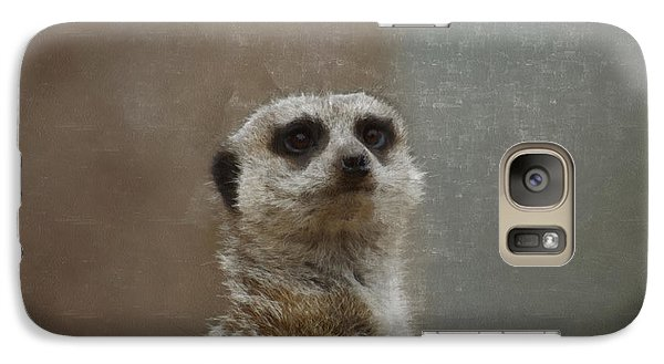 Meerkat 5 Galaxy S7 Case by Ernie Echols