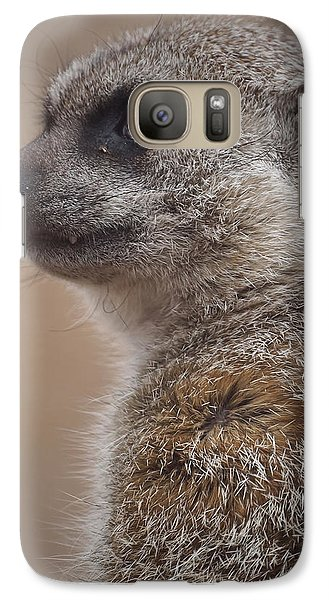 Meerkat 9 Galaxy S7 Case by Ernie Echols