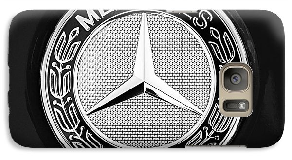 Mercedes-benz 6.3 Gullwing Emblem Galaxy S7 Case by Jill Reger
