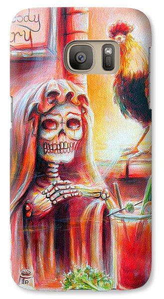 Mi Bloody Mary Galaxy Case by Heather Calderon