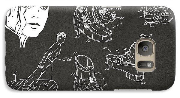 Michael Jackson Anti-gravity Shoe Patent Artwork Vintage Galaxy Case by Nikki Marie Smith