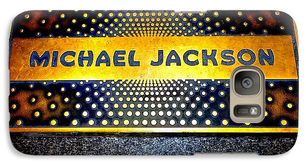 Michael Jackson Apollo Walk Of Fame Galaxy Case by Ed Weidman