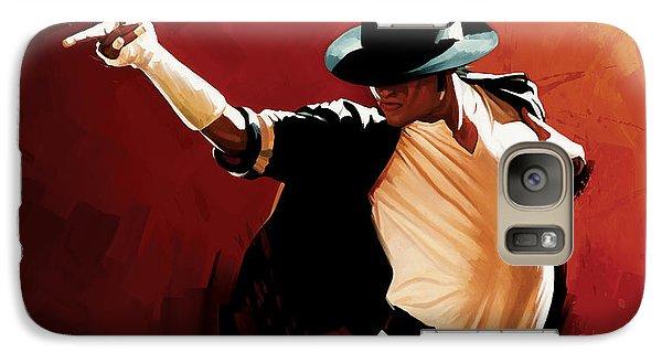 Michael Jackson Artwork 4 Galaxy Case by Sheraz A
