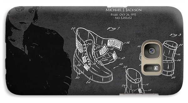 Michael Jackson Patent Galaxy S7 Case by Aged Pixel