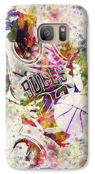 Michael Jordan Galaxy S7 Case by Aged Pixel