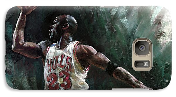 Michael Jordan Galaxy S7 Case by Ylli Haruni