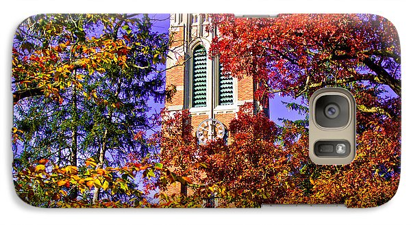 Michigan State University Beaumont Tower Galaxy Case by John McGraw