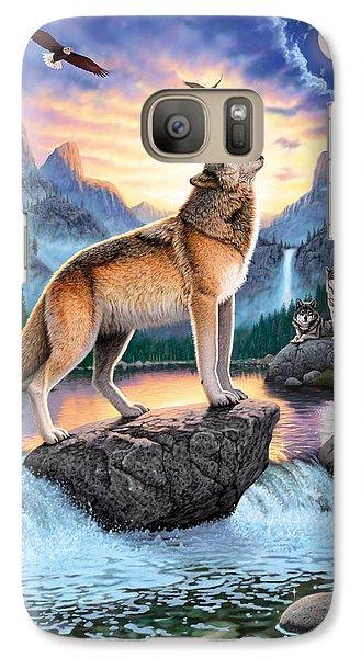 Midnight Call Galaxy S7 Case by Chris Heitt