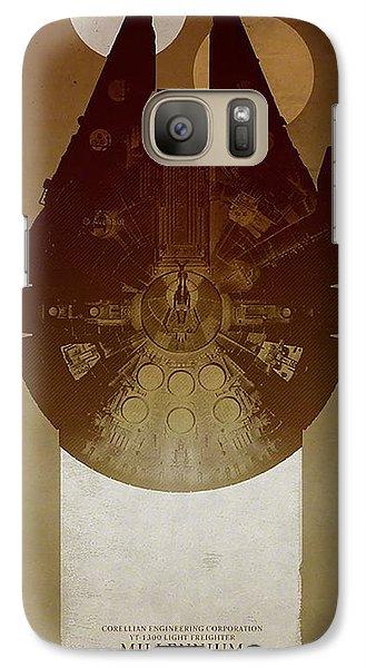 Millennium Falcon Galaxy S7 Case by Baltzgar