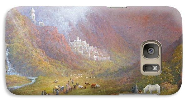 Minas Tirith  War Approaches. Galaxy Case by Joe  Gilronan