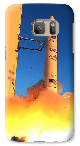 Minotaur Iv Rocket Launches Falconsat-5 Galaxy S7 Case by Science Source