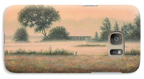 Misty Morning Galaxy Case by James W Johnson