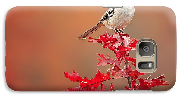 Mockingbird Autumn Square Galaxy S7 Case by Bill Wakeley