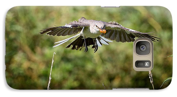 Mockingbird In Flight Galaxy S7 Case by Bill Wakeley