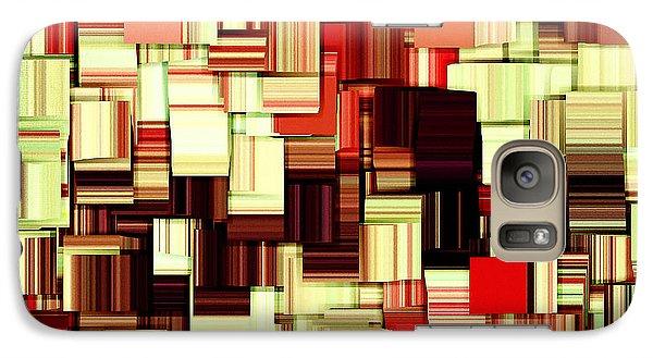 Modern Abstract Art Xvii Galaxy Case by Lourry Legarde
