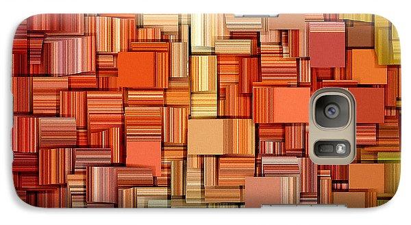 Modern Abstract Viii Galaxy Case by Lourry Legarde