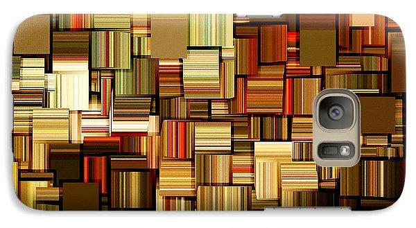 Modern Abstract Xxiii Galaxy Case by Lourry Legarde