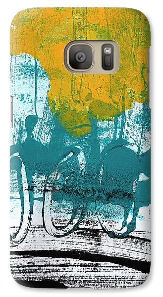 Morning Ride Galaxy Case by Linda Woods