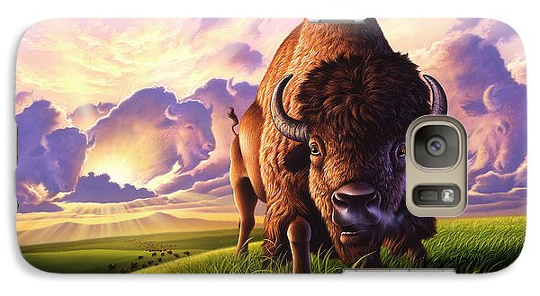 Morning Thunder Galaxy Case by Jerry LoFaro