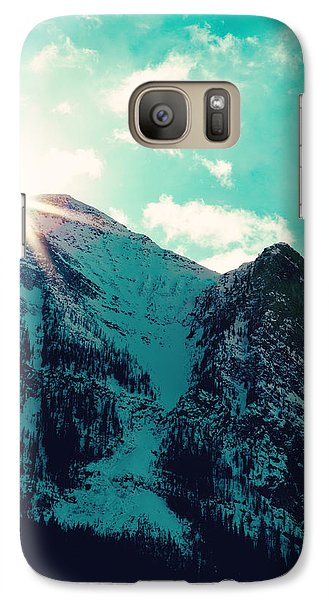 Mountain Starburst Galaxy S7 Case by Kim Fearheiley