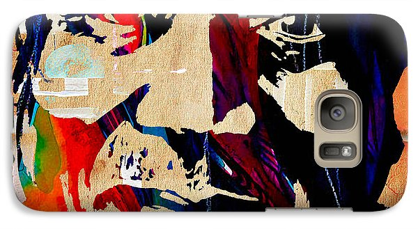 Muddy Waters Collection Galaxy Case by Marvin Blaine