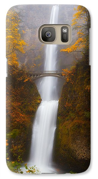 Multnomah Morning Galaxy Case by Darren  White