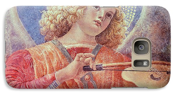 Musical Angel With Violin Galaxy Case by Melozzo da Forli